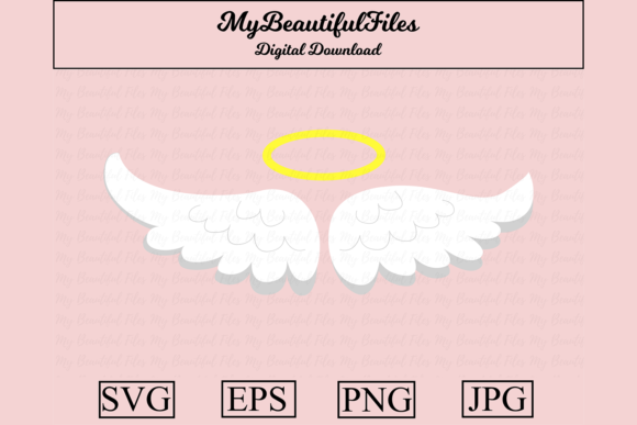 Download Free 60 Angel Designs Graphics for Cricut Explore, Silhouette and other cutting machines.