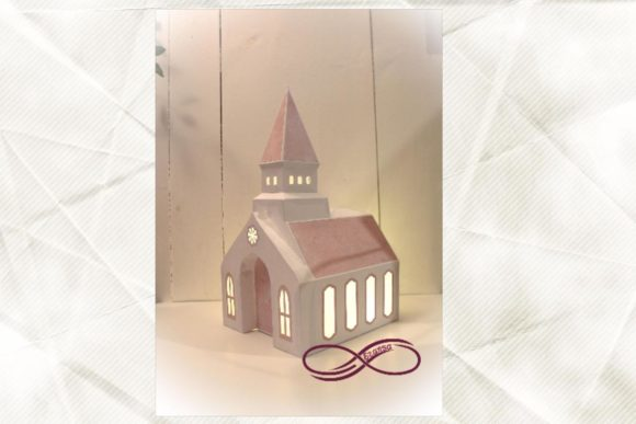 3D Luminary Church Graphic 3D SVG By ezansa.cuttingfiles