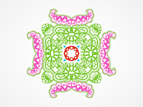 Download Free Abstract Ornament Pattern Ethnic Design Graphic By Vectorceratops Creative Fabrica for Cricut Explore, Silhouette and other cutting machines.