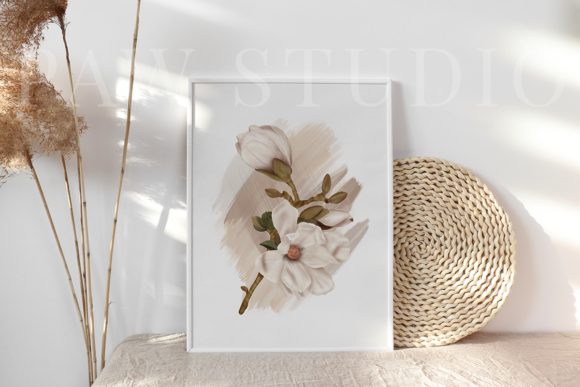 Print on Demand: Boho Tropical Floral Graphic - Home Decor Graphic Illustrations By PawStudio - Image 8
