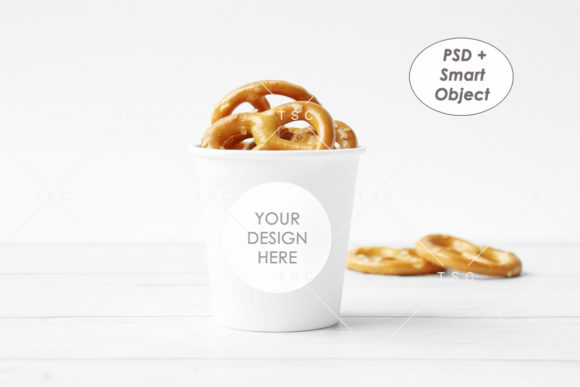Circle Tag Mockup Graphic Product Mockups By thesundaychic