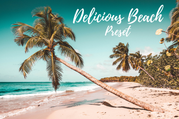 Print on Demand: Delicious Beach Lightroom Preset Graphic Actions & Presets By MyBeautifulFiles