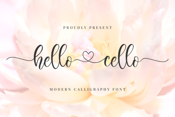 Print on Demand: Hello Cello Script & Handwritten Font By R. Studio