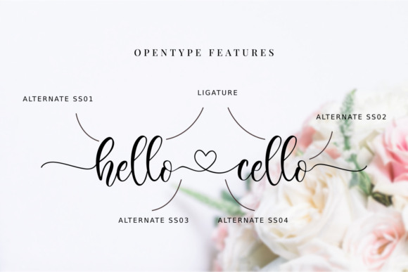 Download Free Hello Cello Font By R Studio Creative Fabrica for Cricut Explore, Silhouette and other cutting machines.