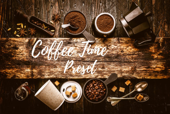 Download Free Lightroom Presets Coffee Time Graphic By Mybeautifulfiles for Cricut Explore, Silhouette and other cutting machines.