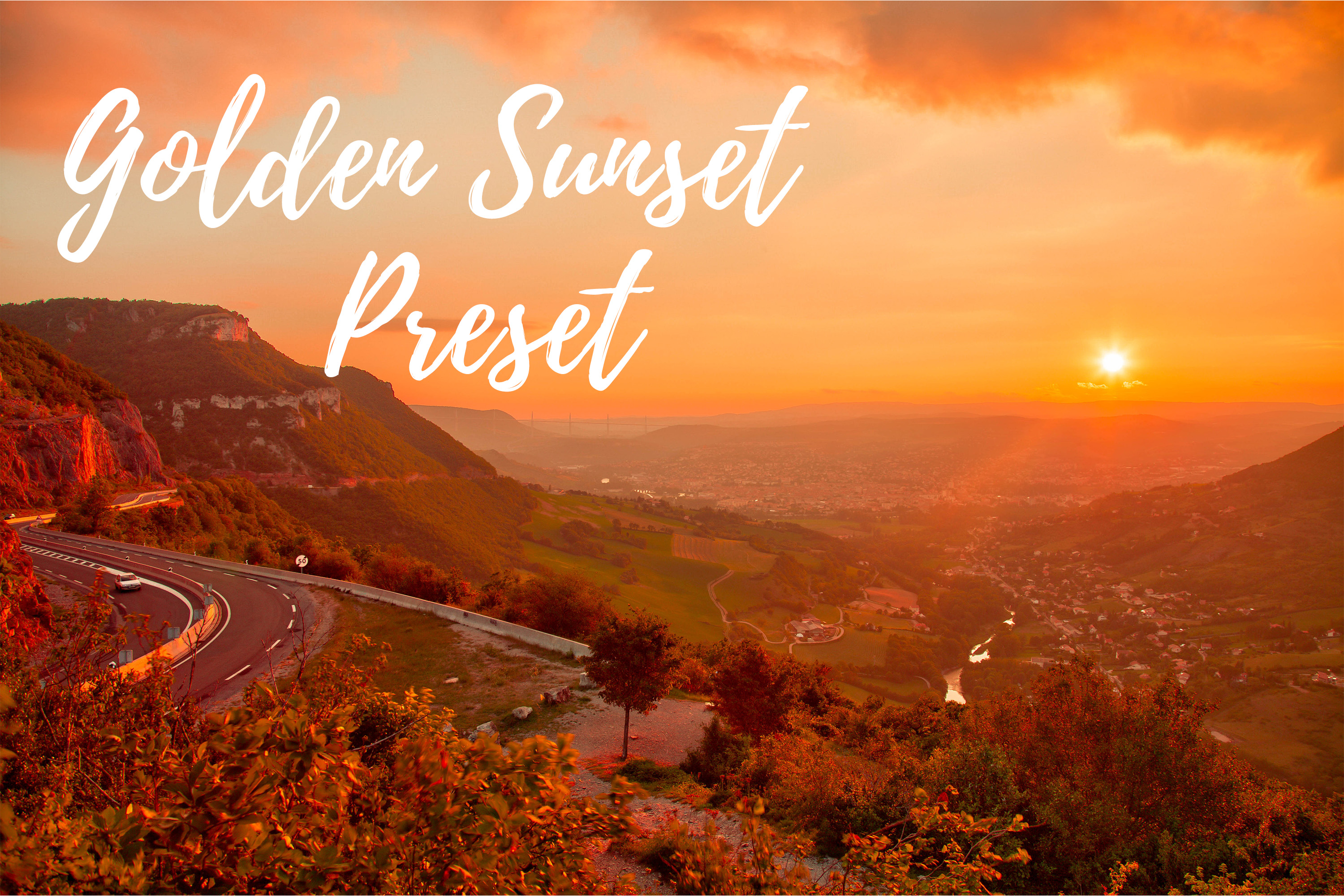 Download Free Lightroom Presets Golden Sunset Graphic By Mybeautifulfiles SVG Cut Files