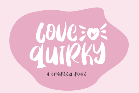 Print on Demand: Love Quirky Display Font By Azetype