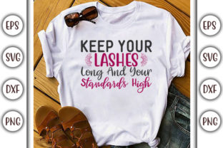 Print on Demand: Makeup Design, Keep Your Lashes Graphic Print Templates By GraphicsBooth