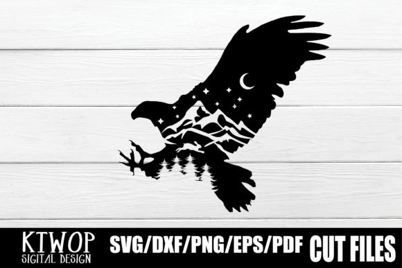 Print on Demand: Nature X Animal Series 2020 Eagle Graphic Crafts By KtwoP