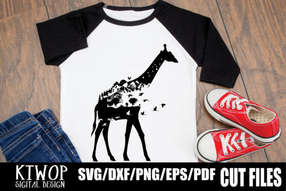 Nature X Animal Series 2020 Giraffe Graphic By Ktwop Creative