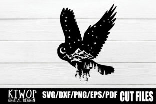 Download Free Nature X Animal Series 2020 Owl Graphic By Ktwop Creative Fabrica for Cricut Explore, Silhouette and other cutting machines.
