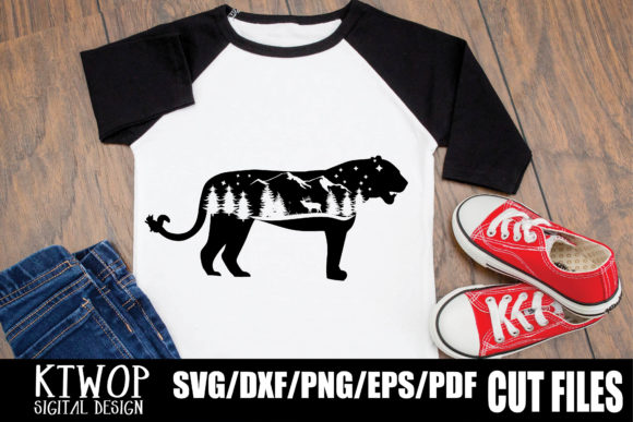 Download Free Nature X Animal Series 2020 Panther Graphic By Ktwop Creative SVG Cut Files