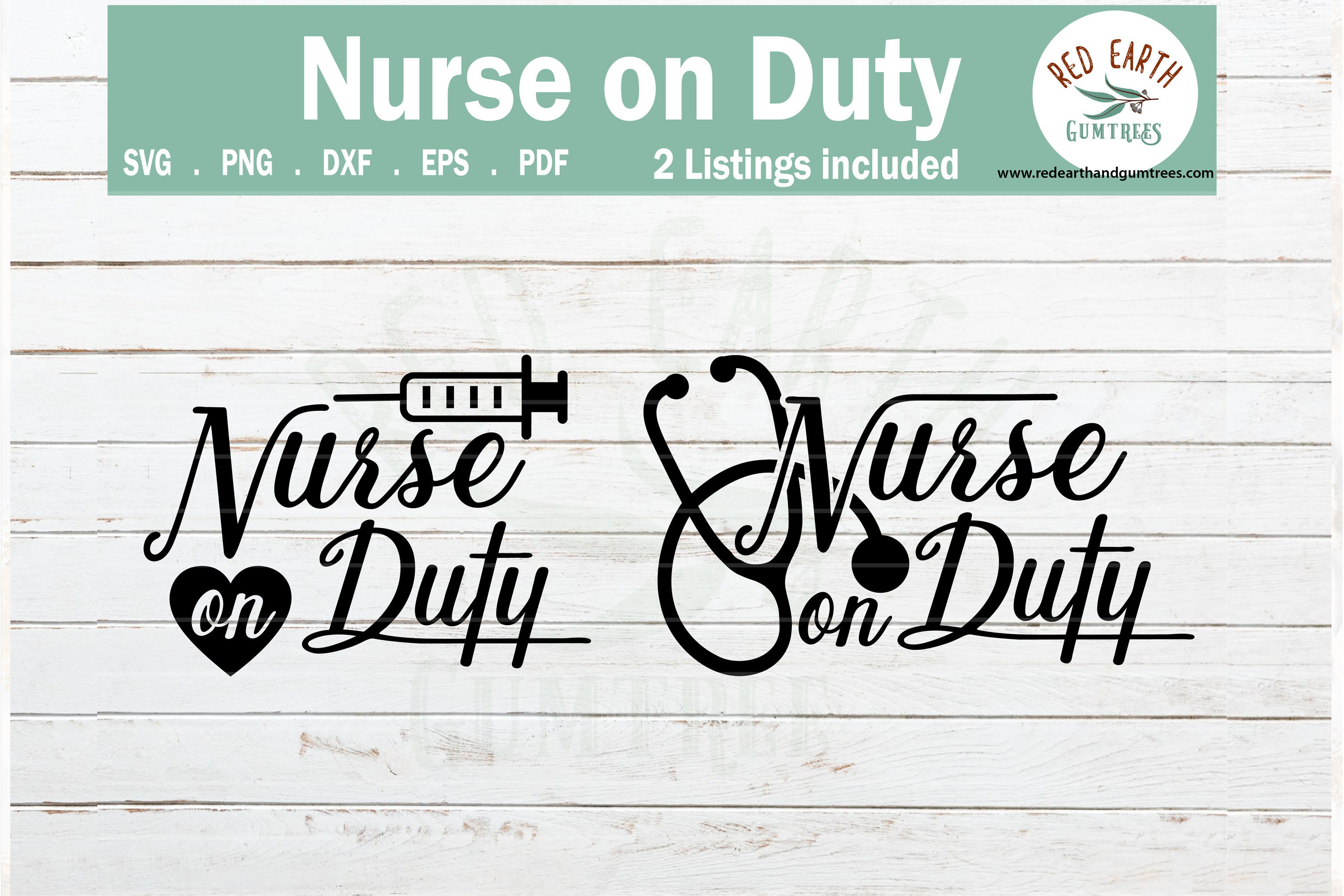Download Free Nurse On Duty Healthcare Worker Graphic By Redearth And for Cricut Explore, Silhouette and other cutting machines.