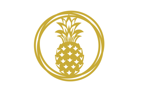 Download Free Pineapple Circles Graphic By Strawsticksnbricks Creative Fabrica for Cricut Explore, Silhouette and other cutting machines.
