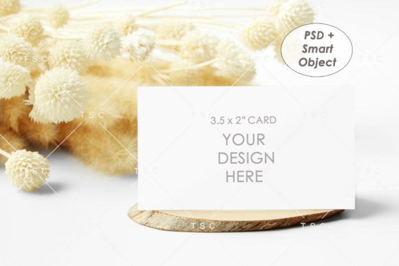 Place Card Mockup Graphic Product Mockups By thesundaychic