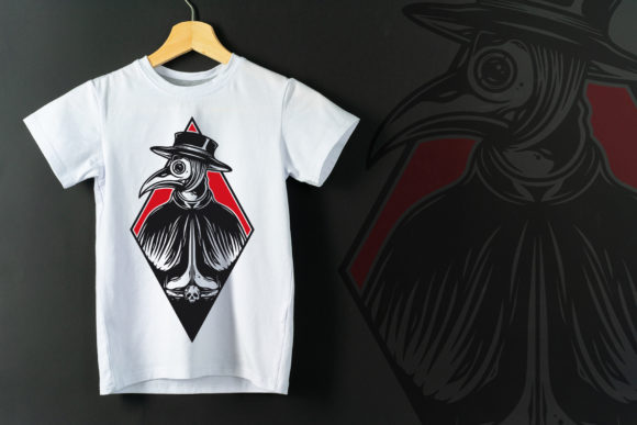 Plague Doctor Vintage Vector Tattoo Art Graphic Illustrations By vectorwithin