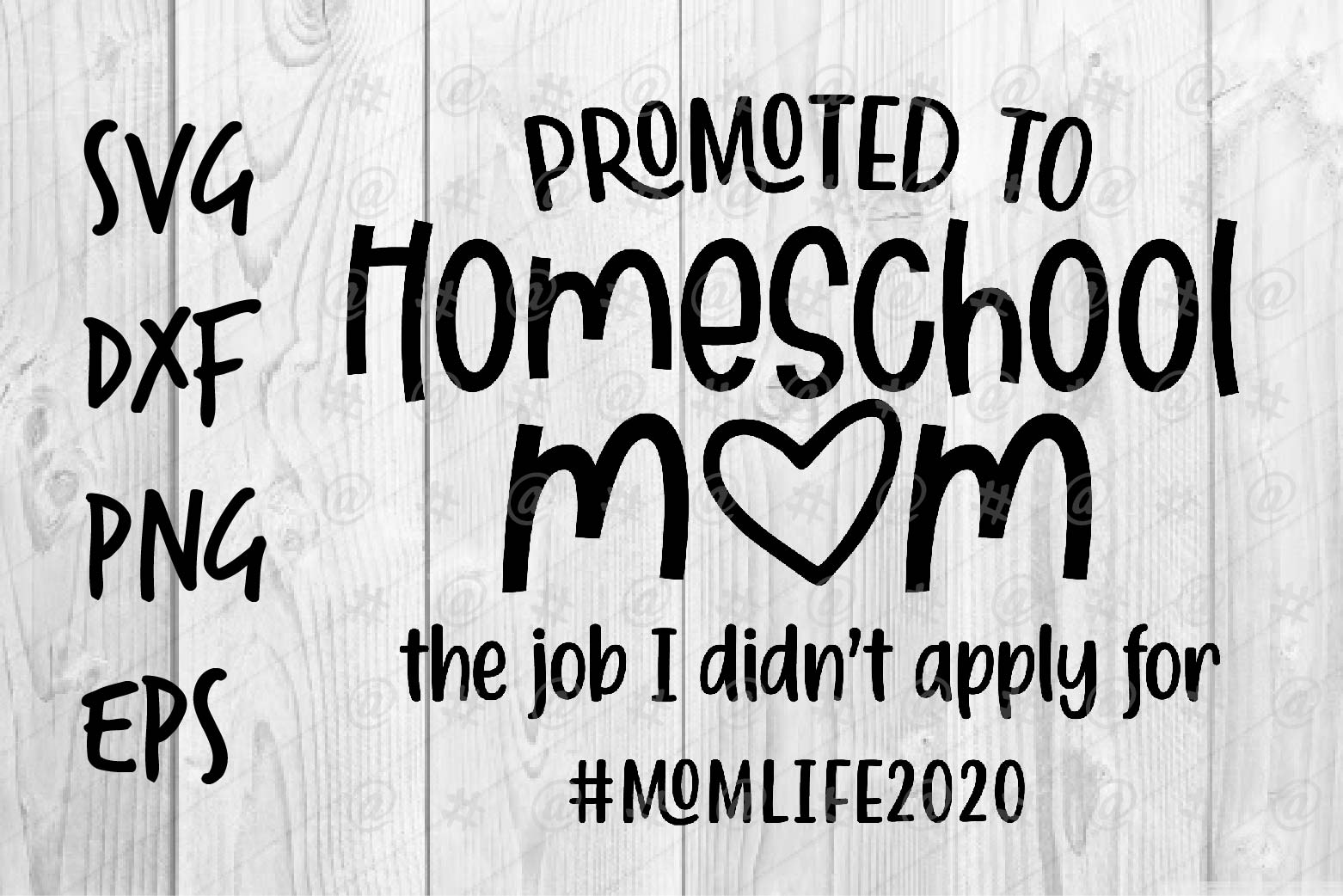 Promoted To Homeschool Mom Graphic By Spoonyprint Creative Fabrica