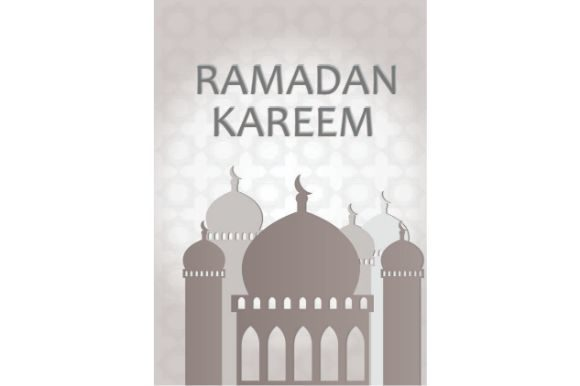 Download Free Ramadan Kareem Vector Art Illustration Graphic By Firdausm601 for Cricut Explore, Silhouette and other cutting machines.