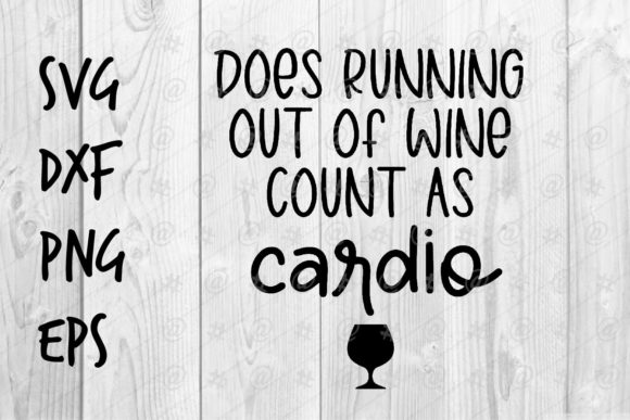 Download Running on Wine Count As Cardio