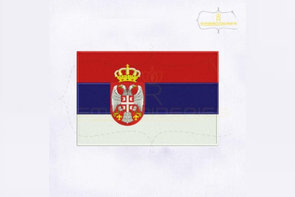Download Free Serbia Flag Creative Fabrica for Cricut Explore, Silhouette and other cutting machines.