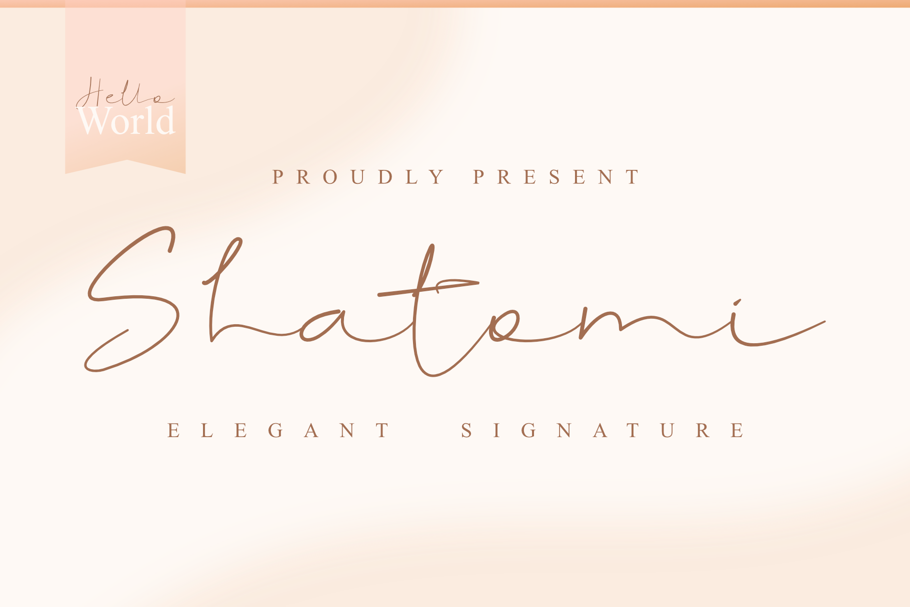 Download Free Shatomi Font By Dumadi Creative Fabrica for Cricut Explore, Silhouette and other cutting machines.