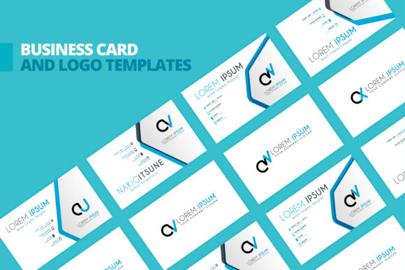 Simple Identity Business Card Template Graphic By Setiawanarief111 Creative Fabrica