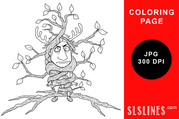 Download Free Chubby Spring Fairy Coloring Page Graphic By Sls Lines for Cricut Explore, Silhouette and other cutting machines.