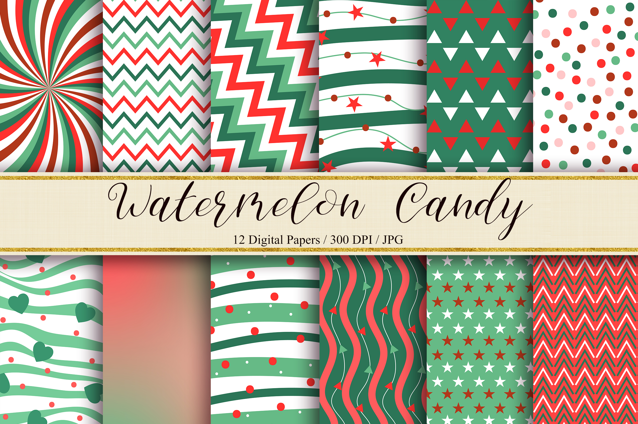 Download Free Watermelon Candy Background Graphic By Pinkpearly Creative Fabrica for Cricut Explore, Silhouette and other cutting machines.