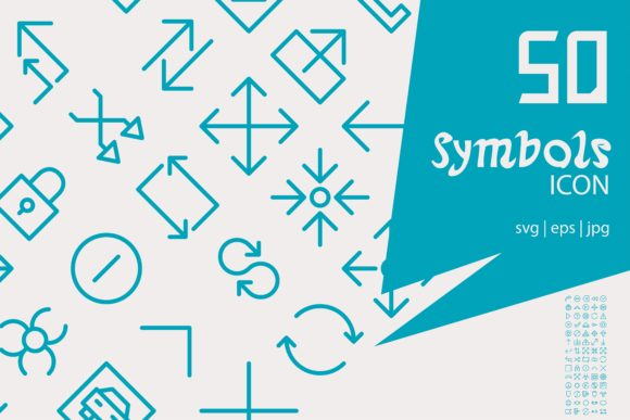 Download Free Symbols Graphic By Astuti Julia93 Gmail Com Creative Fabrica for Cricut Explore, Silhouette and other cutting machines.