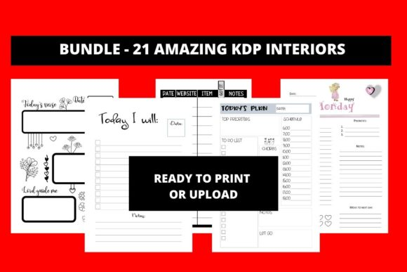 Print on Demand: 21 KDP INTERIORS  By Fleur de Tango