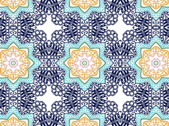 Abstract Pattern Background Textile Graphic By Vectorceratops