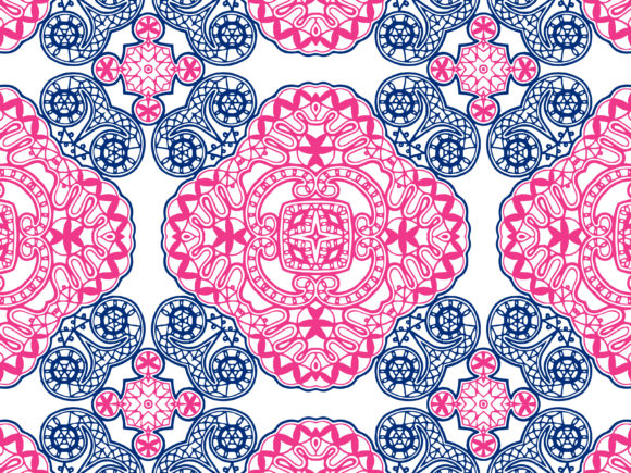 Abstract Pattern Vector Artistic Design Graphic By