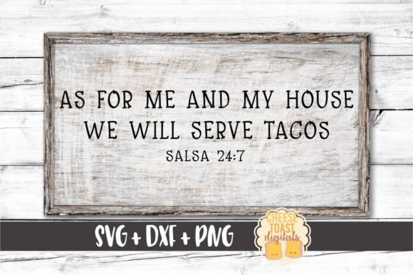 As for Me & My House We… SVG Cut Files