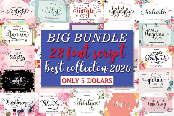 Big Font Bundle  By MYdesign