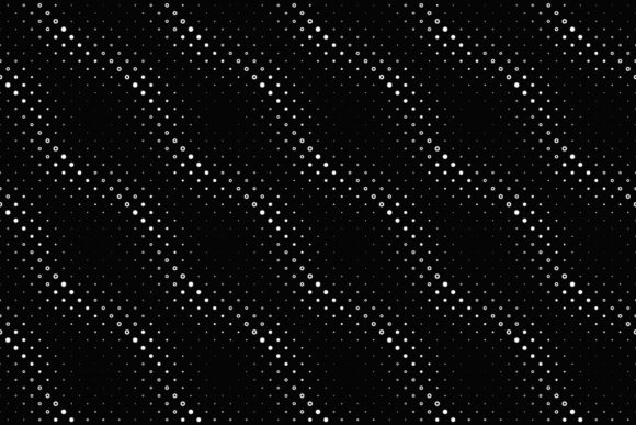Download Free Abstract Black And White Square Pattern Graphic By Davidzydd for Cricut Explore, Silhouette and other cutting machines.