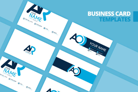 Download Free Simple Identity Card And Logo Template Graphic By for Cricut Explore, Silhouette and other cutting machines.