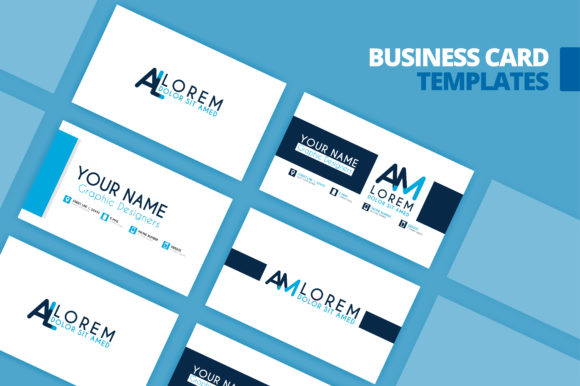Business Card Template Design Graphic By Setiawanarief111