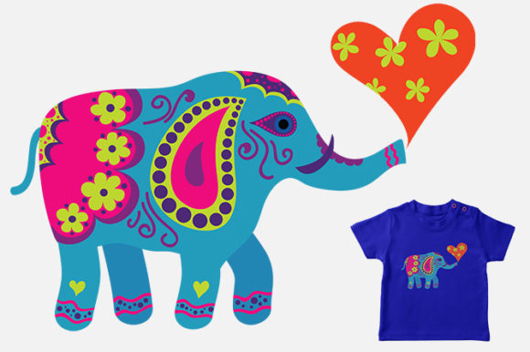 Download Free Elephant Craft Design Graphic By Storm Brain Creative Fabrica for Cricut Explore, Silhouette and other cutting machines.