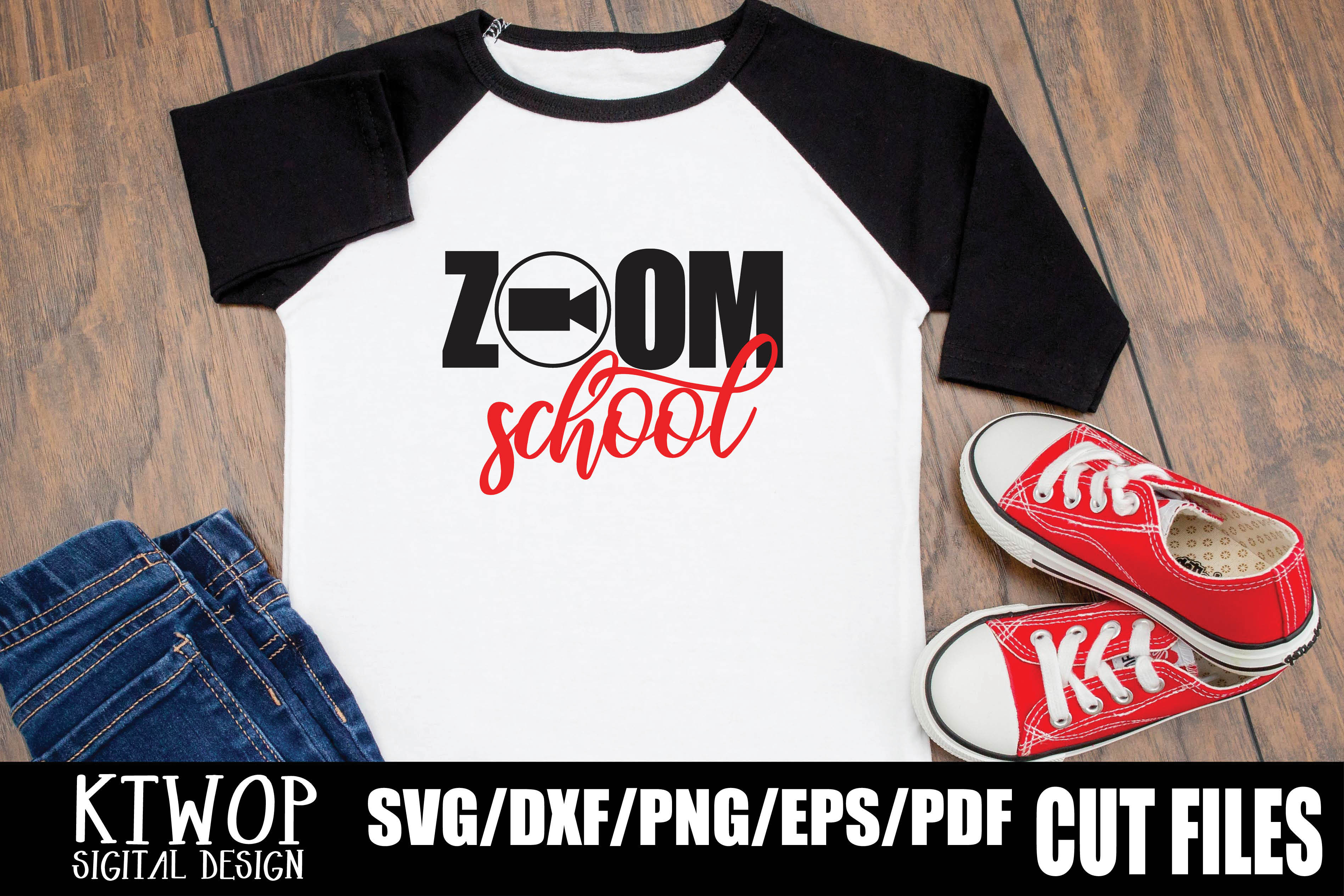 Download Free Zoom School Graphic By Ktwop Creative Fabrica for Cricut Explore, Silhouette and other cutting machines.