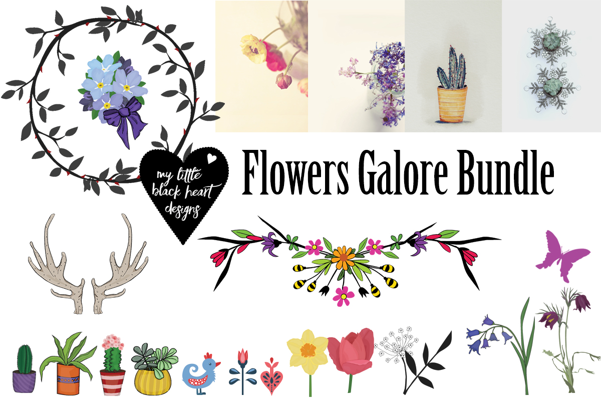 Flowers Galore Bundle Free Download
