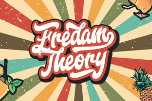 Print on Demand: Fredam Theory Script & Handwritten Font By StringLabs