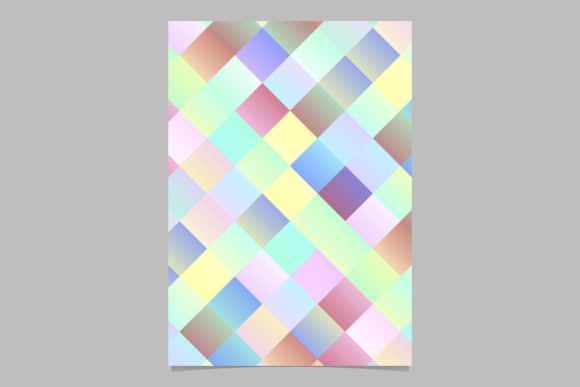 Gradient Square Page Background Graphic Print Templates By davidzydd