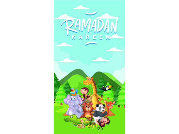 Download Free Greeting Card Ramadan Kareem Vector Graphic By 1tokosepatu for Cricut Explore, Silhouette and other cutting machines.