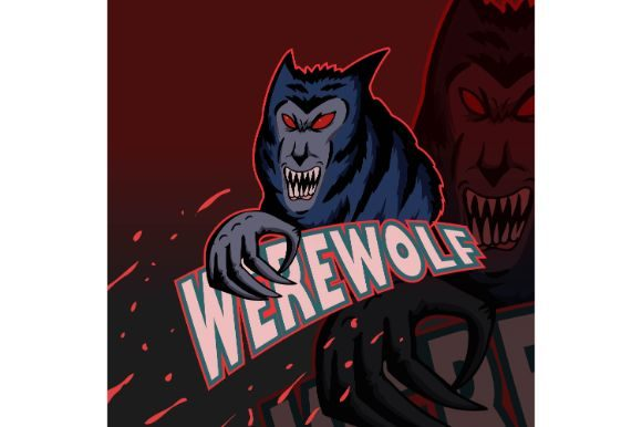 Download Free Horror Werewolf Sticker Print Graphic Graphic By Firdausm601 for Cricut Explore, Silhouette and other cutting machines.