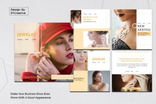 Instagram Feed - Jewelry Graphic Presentation Templates By 57creative