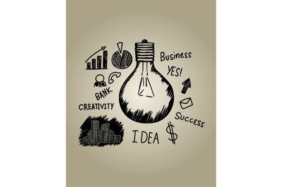 Light Bulb Business Idea Graphic By Firdausm601 Creative Fabrica