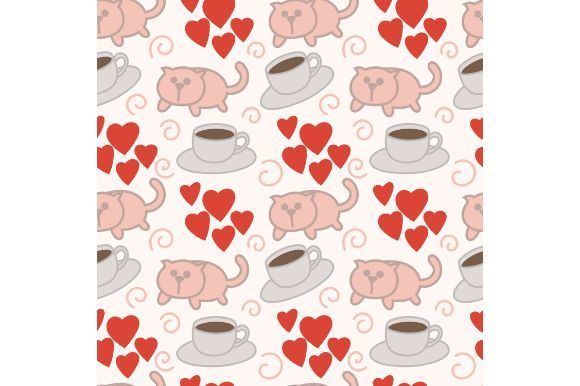 Download Free Morning With Cat Wallpaper Drawing Graphic By Firdausm601 for Cricut Explore, Silhouette and other cutting machines.