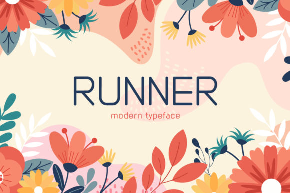 Print on Demand: Runner Display Font By Seemly Fonts