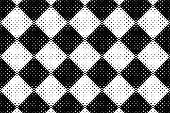 Seamless Curved Star Pattern Graphic Patterns By davidzydd