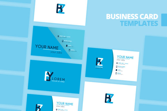 Download Free Simple Identity And Business Card Design Graphic By for Cricut Explore, Silhouette and other cutting machines.